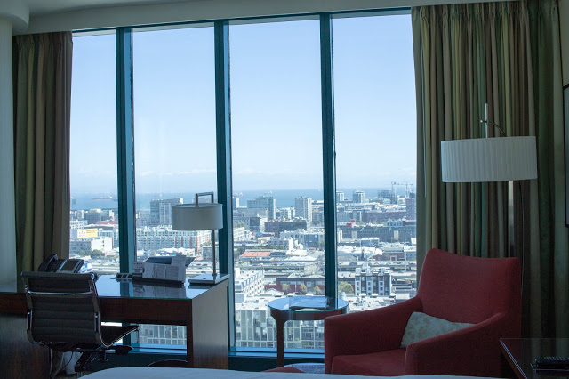 hotel room sf
