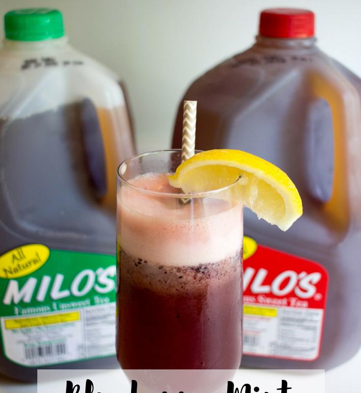 Summer Sips: Blueberry Mint Tea Recipe