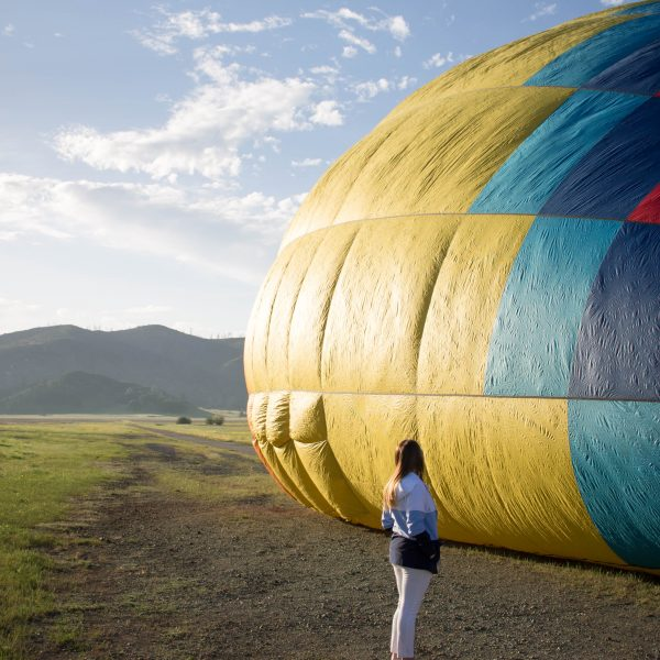 A Napa Valley Hot Air Balloon Ride With Calistoga Balloons