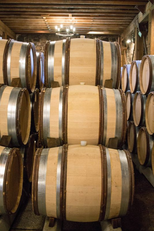 Far Niente Wine Barrels