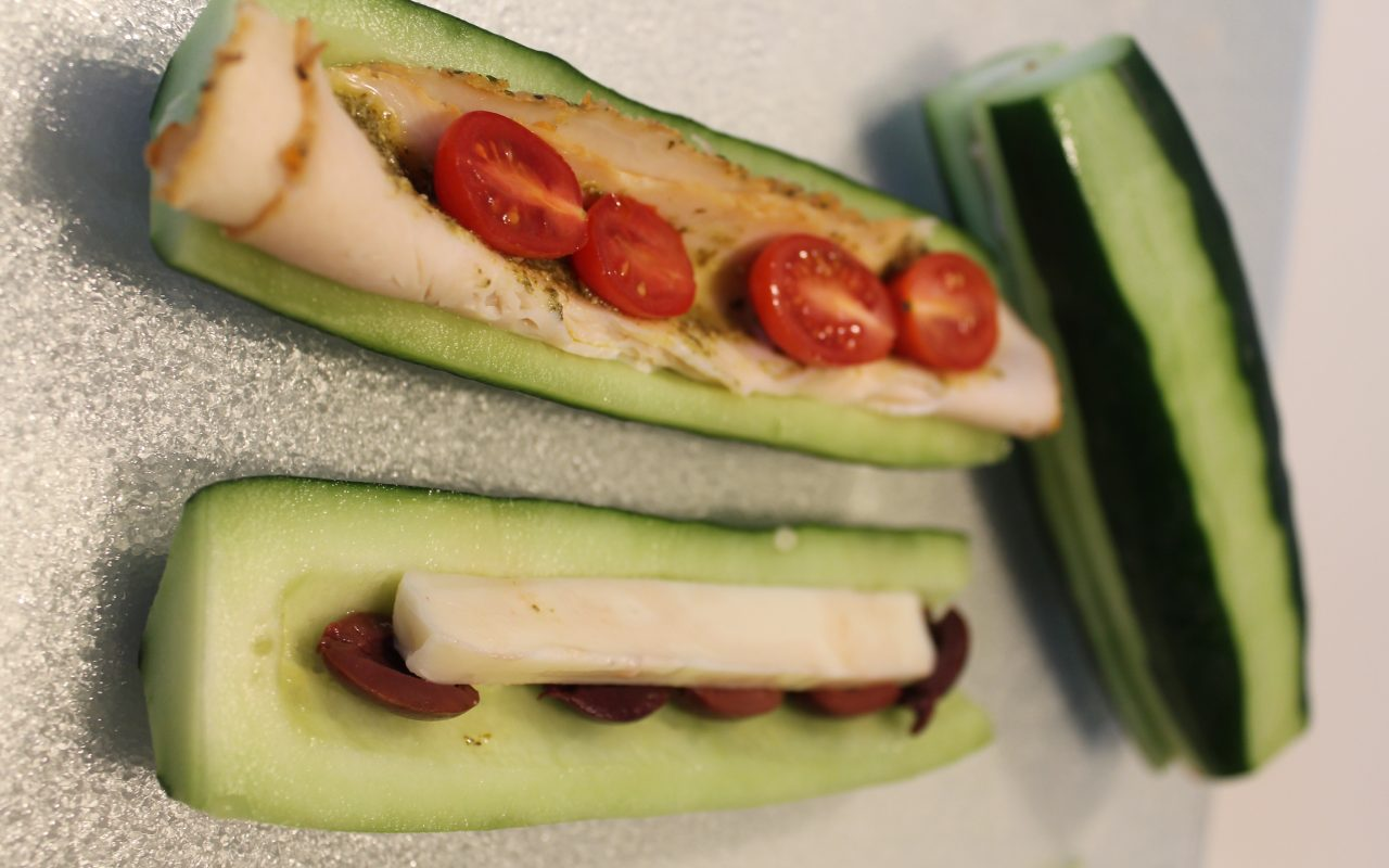 Low Carb Cucumber Sandwiches: A Keto-Friendly Lunch