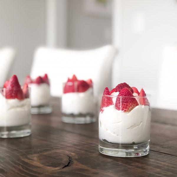 A Simple Dessert Recipe: Strawberries & Cream