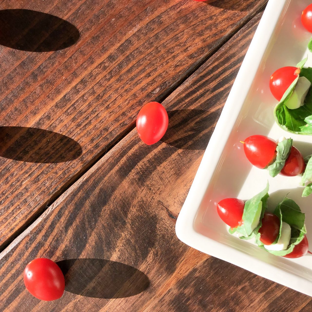 The Best Snack: Caprese Bites